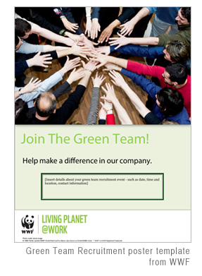 WWF-green-team-poster