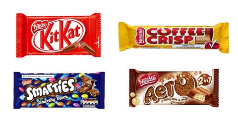 NestleFourChocolates