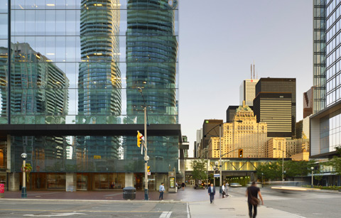 Southcore-Financial-Centre-Street-Royal-York-Hotel